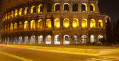 Colosseum at night, Rome — 图库照片
