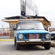 Old soviet car — Stock Photo #8717096