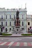 Monument van tsarina catharina ii, odessa — Stockfoto