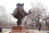 Bronze Monument, Odessa — Stock Photo