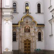 Door, Pechersk Lavra monastery, Kiev — Stock Photo