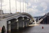 Costruzione del ponte, kiev — Foto Stock