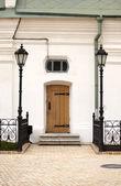 Door, Pechersk Lavra monastery, Kiev — Stock Photo