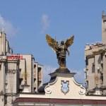 Angel statue, Kiev — Stock Photo