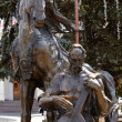 Statue Of Cossack Mamay, Kiev — Stock Photo #8732558