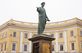 Rishelie dyuk,敖德萨的纪念碑 — 图库照片