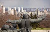 Monument , Kiev — Stock Photo