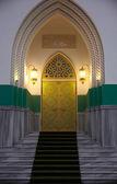 Door of muslim cultural center, Odessa — Stock Photo