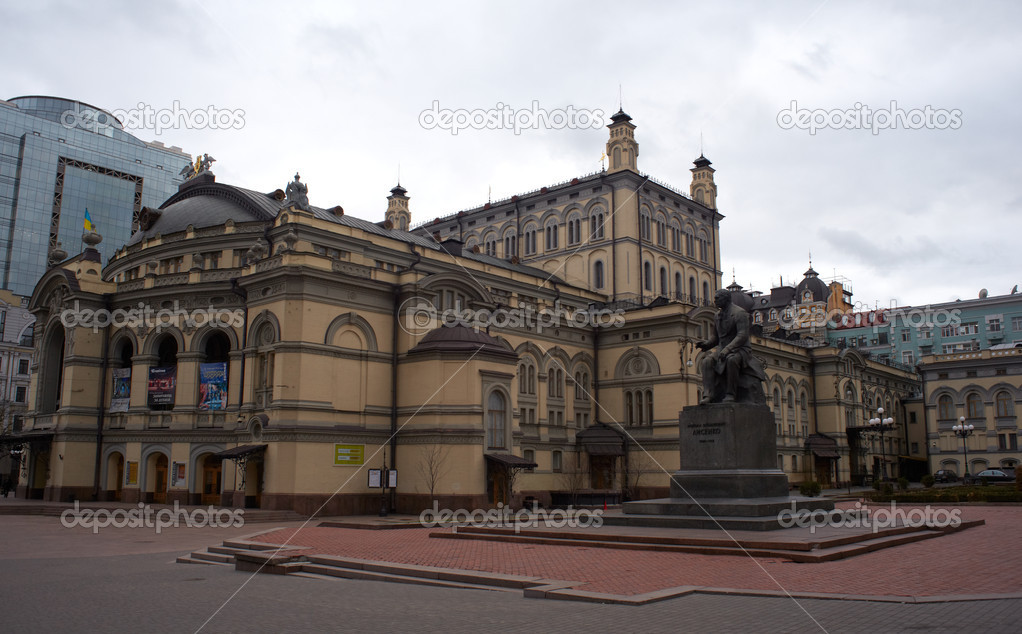 Opera House in Kiev, Ukraine — Stock Photo #8732837
