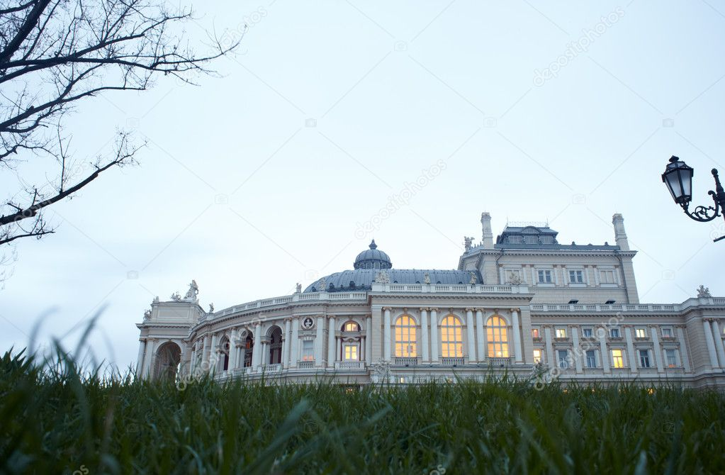 View of Opera and ballet house in Odessa, Ukraine — Stock Photo #8732890
