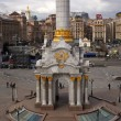 Column in Independence Square, Kiev — Stock Photo