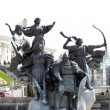 Monument of City-founders, Kiev — Stock Photo