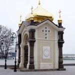 Chapel, Pechersk Lavra monastery in Kiev — Stock Photo #8745519