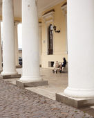 Colonnade in Odessa — Stock Photo