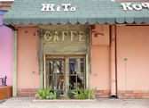 Coffee bar in Odessa — Stock Photo