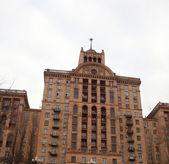 Gebäude in der kreshiatic street, kiew — Stockfoto