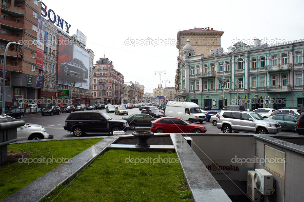 View of a road in Kiev — Stock Photo #8745354