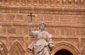 Palermo santa rosalia heykeli — Stok fotoğraf