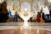 Interior of Palermo Cathedral, Sicily, — Stock Photo