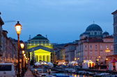 St. Antonio cathedral, Trieste — Stock Photo