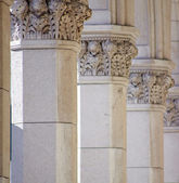 Columns, Trieste — Stock Photo