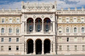 Government House in Trieste — Stock Photo