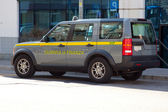 Guardia di finanza car — Stock Photo