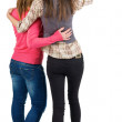 Back view of two young woman — Stock Photo #10233214