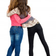 Back view of two young woman — Stock Photo #10233238