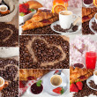 Stock Photo: Breakfast collage