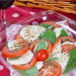 Caprese salad — Stock Photo #10280116
