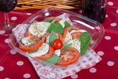 Caprese salad — Stock Photo