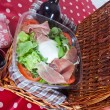 Pic-nic basket — Stock Photo #10300919