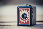 Old Folding Camera — Stock Photo