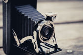 Old Folding Camera — Stock Photo