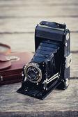 Folding Camera — Stock Photo