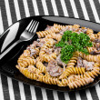 Cooked  pasta - Stock Photo