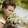 Happy bride — Stock Photo #9007951