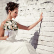 Young bride — Stockfoto