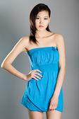 Retrato de moda de una muchacha — Foto de Stock
