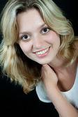 Portrait of the girl — Stock Photo