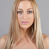 Retrato da loira — Foto Stock