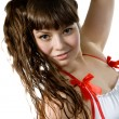 Attractive young girl — Stock Photo #9444472