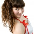 Attractive young girl — Stock Photo #9444483