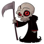Little Grim Reaper — Stock Vector