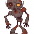 Rusty Zombie Robot — Stock Vector #9746389