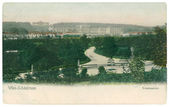 Vienna, Schönbrunn Palace. Old postcard — Stock Photo