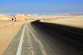 Empty road — Stock Photo