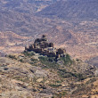 Mountain village, Yemen - Stock Photo