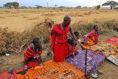 Masai market — Stock Photo